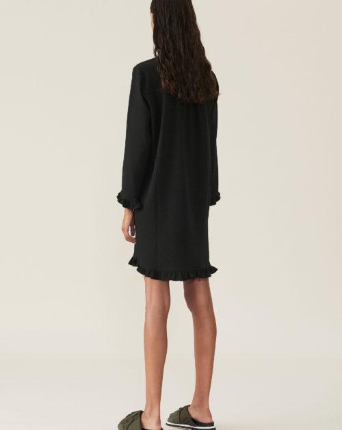 Heavy Crepe Mini Dress