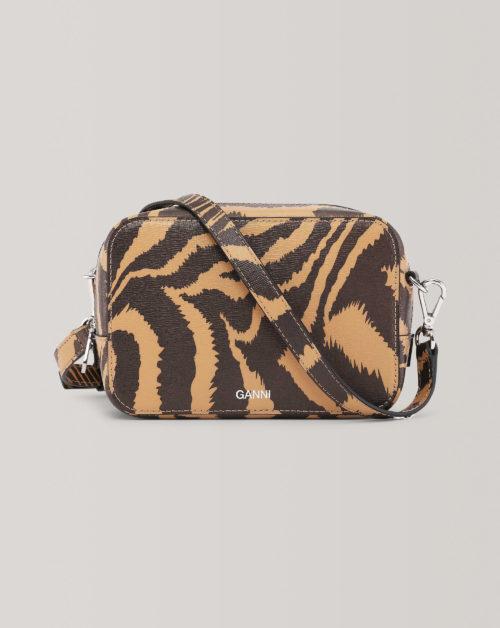 Printed Leather Slg Bag