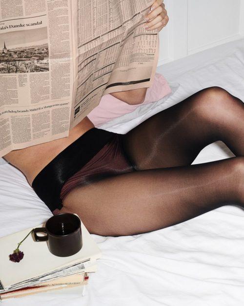 Erika Seamless Black 30