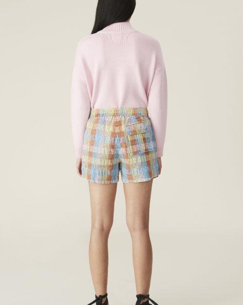 Shorts Seersucker Check